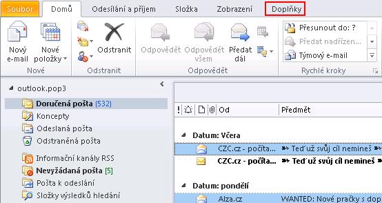 MSO 2010 - ODIR - doplnky